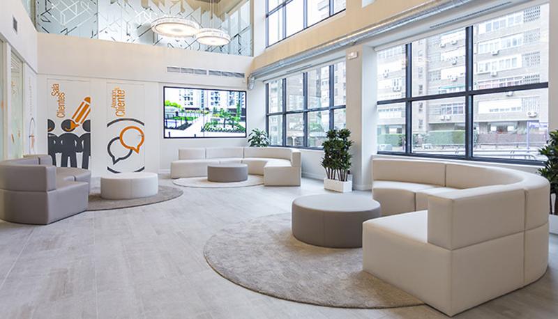Imagen de la oficina central de Vía Célere en Madrid.