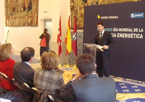 El director del Centro de Eficiencia Energética de Unión Fenosa, José Javier Guerra Román.