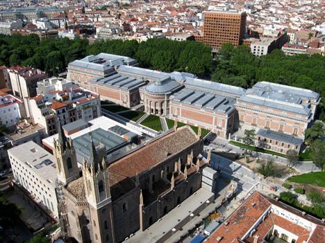 Ampliación del Museo del prado de Madrid