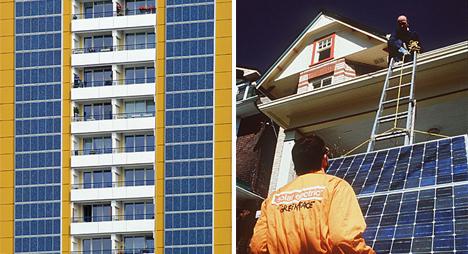 Apoyo a la energía fotovoltaica de Greenpeace