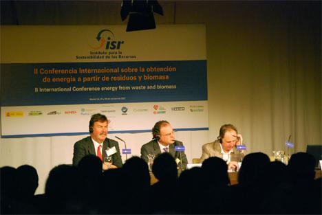 II Conferencia Internacional sobre la obtención de energía a partir de residuos y biomasa