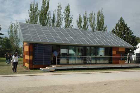 Casa Solar de la Universidad Politécnica de Madrid