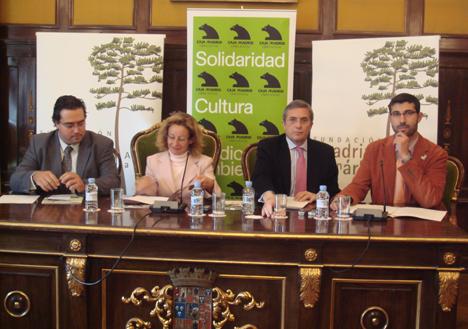 Obra Social de Caja Madrid y la Fundación Apadrina un Árbol colaboran