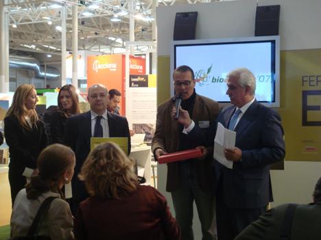 David Poveda, Gerente Grupo Nova Energía recoge el Premio