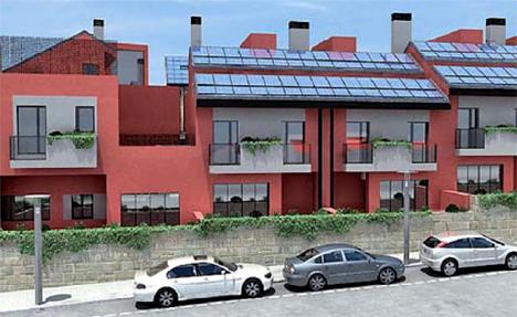Las placas solares integradas en la edificación