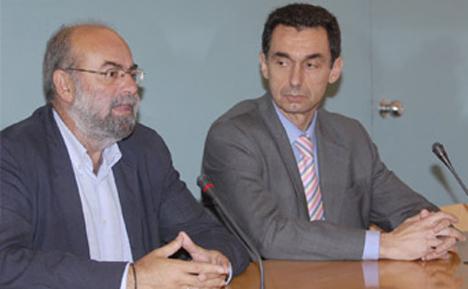 Antonio Roldán y Joaquín Reina Gómez