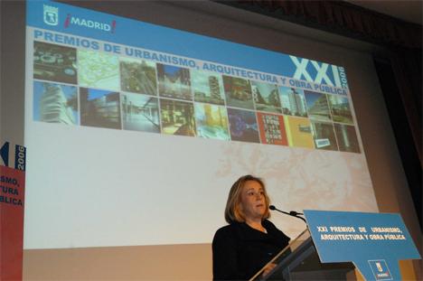 Pilar Martínez, Delegada de Urbanismo Ayuntamiento de Madrid