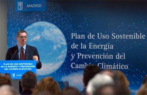 Plan 2008-2012 para el Uso Sostenible de la Energía y Prevención del Cambio Climático de la ciudad de Madrid.