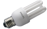 Lámpara ahorradora Genie de Philips