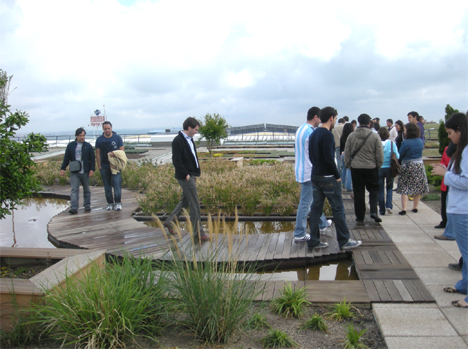 Visita Cubierta Experimental de Intemper de los alumnos de la Universidad Europea de Madrid