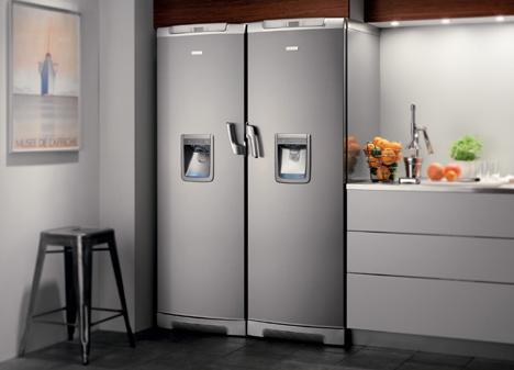 Soluciones de electrolux en su gama de fr o para disfrutar for Dispensador de latas para frigorifico