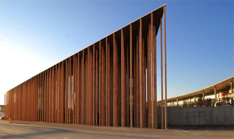 Pabellón de Expaña de la Expo Zaragora 2008