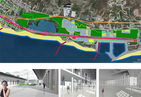 Holcim Awards Acknowledgement prizes 2008 - Waterfront reclamation and remediation, Southern Italy