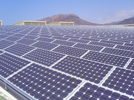 La mayor planta solar fotovoltaica sobre cubierta de Canarias