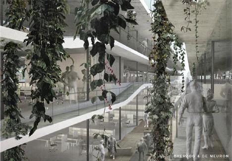 Vista interior del edificio