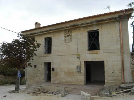 Accésit: Rehabilitación de Edificio de Centro Socio-Cultural de Saseta (Burgos)