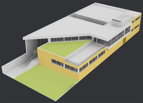 Mención de Honor: Edificio de Oficinas Termoservicio en Arroyo de la Encomienda (Valladolid)