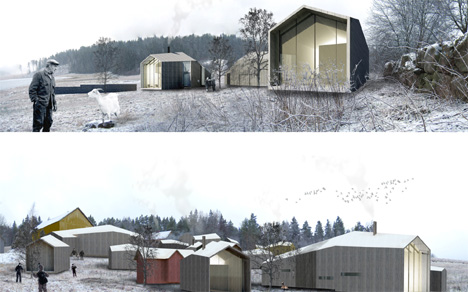 "Holcim Awards ""Next Generation"" 3rd prize 2008 - Self-sufficient rural community, Paimio, Finland"