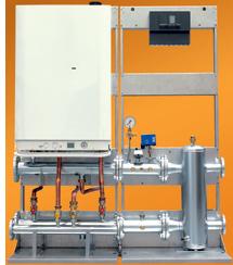 Calderas para calefacción centralizada Mare de Manaut