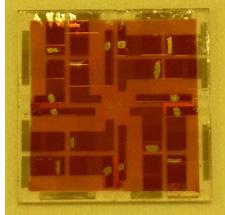 Módulo fotovoltaico carente de silicio