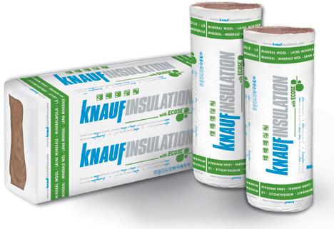La nueva Lana Mineral Natural de Knauf Insulation, empaquetada con el sistema MPS