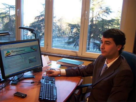 Luis Eduardo Canelo, director del proyecto de investigación.