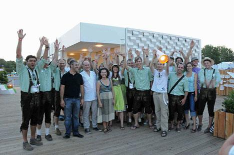 Premio de Iluminación a University of Applied Sciences Rosenheim.