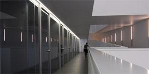 Edificio seminarios INCUBE de Gran Canaria. Soluciones arquitectónicas de mínima demanda energética