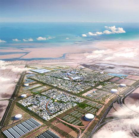 Masdar City (Abu Dhabi, Emiratos Árabes) © Foster + Partners