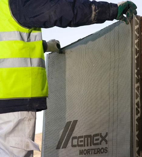 THERMUR, sistema de aislamiento térmico por el exterior de Cemex.