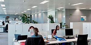 Iluminación eficiente en la rehabilitación de edificios. Proyecto Sede Philips