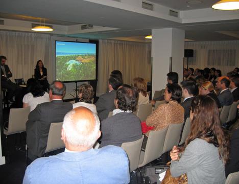 Presentación de la Memoria de Sostenibilidad de Sol Meliá en Madrid