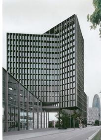 Edificio Mediapro de los arquitectos Carlos Ferrater, Patrick Genard y Xavier Martí, ganador en la pasada convocatoria de los premios BigMat