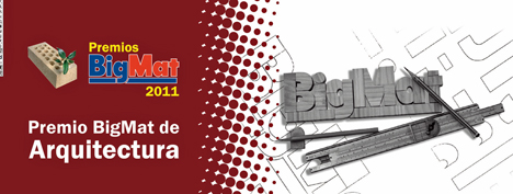 Logo Premios de Arquitectura BigMat 2011