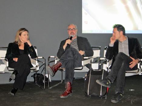 De dcha. a izq. Inés Leal de CONSTRUIBLE, José Maria Faerna de Diseño Interior y Rubén Arribas de El Duende.