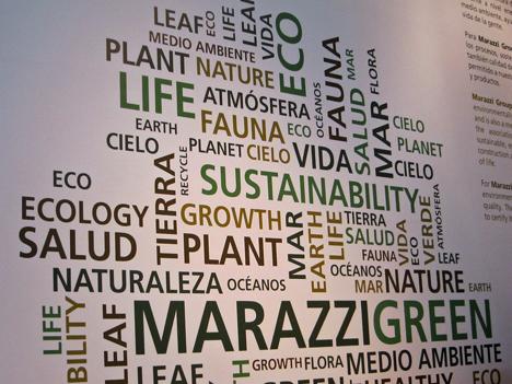 Estrategia eco-sostenible de Marazzi