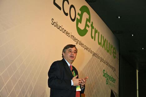 Enrique Valer, Country President de Schneider Electric para España, Portugal y Sudamérica