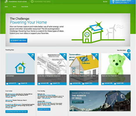 Concurso Ecomagination Challenge: Powering Your Home