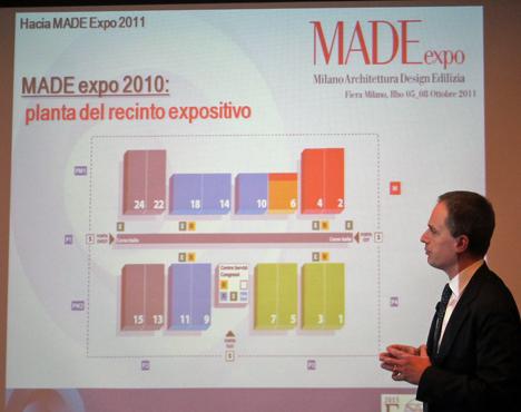 Presentación MADEexpo en Madrid.