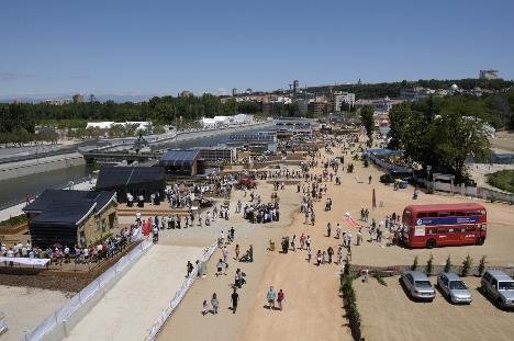 Villa Solar, Solar Decathlon Europe. Madrid, junio de 2010.