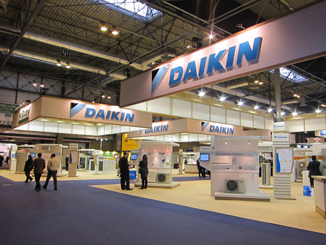 Stand de Daikin en Climatización 2011