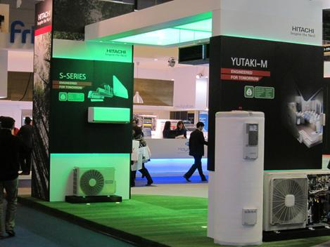 Hitachi en Climatización 2011