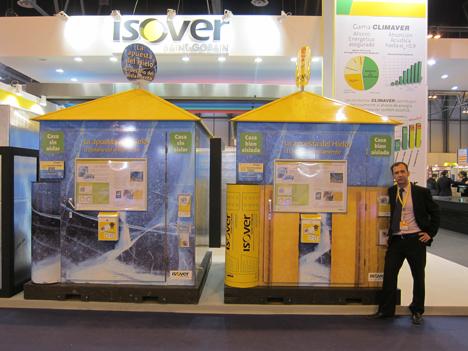 Nicolás Bermejo Presa, Responsable de Prescripción y Promoción Técnica de Isover nos muestra la Apuesta del Hielo de Isover