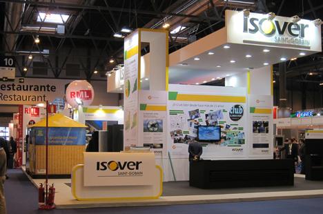 Stand de Isover en Climatización 2011
