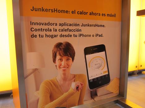 Aplicación para i-Phone de Junkers