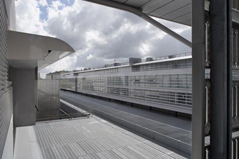 Vista interior del Hospital de Estrasburgo