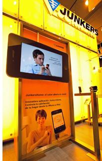 Aplicación de Junkers para iPhone y iPad