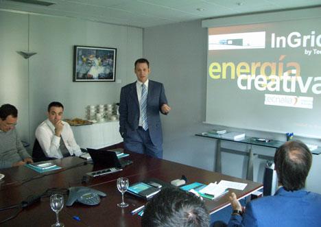 """Jornada """"El sector TEIC y el Mercado Emergente de las Smart Grids"""""""