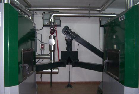 Caldera de Biomasa instalada en un hotel