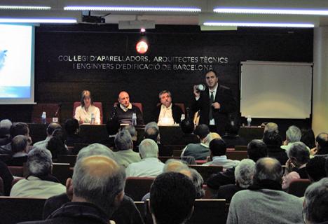 Jornadas de Murprotect en el Colegio de Aparejadores de Barcelona